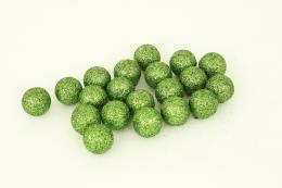Vánoční kulička-zelená,20ks - zvětšit obrázek