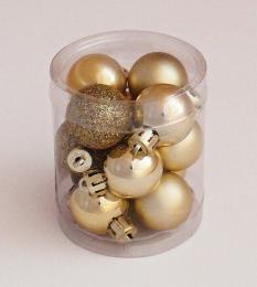 Vánoční koule plast - zvětšit obrázek