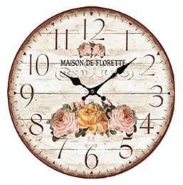 Nástěnné hodiny-maison de florette - zvětšit obrázek