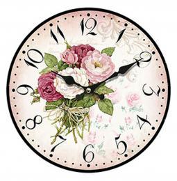 Nástěnné hodiny-kytice - zvětšit obrázek