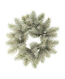 Vánoční věnec-ojíněný - zvětšit obrázek